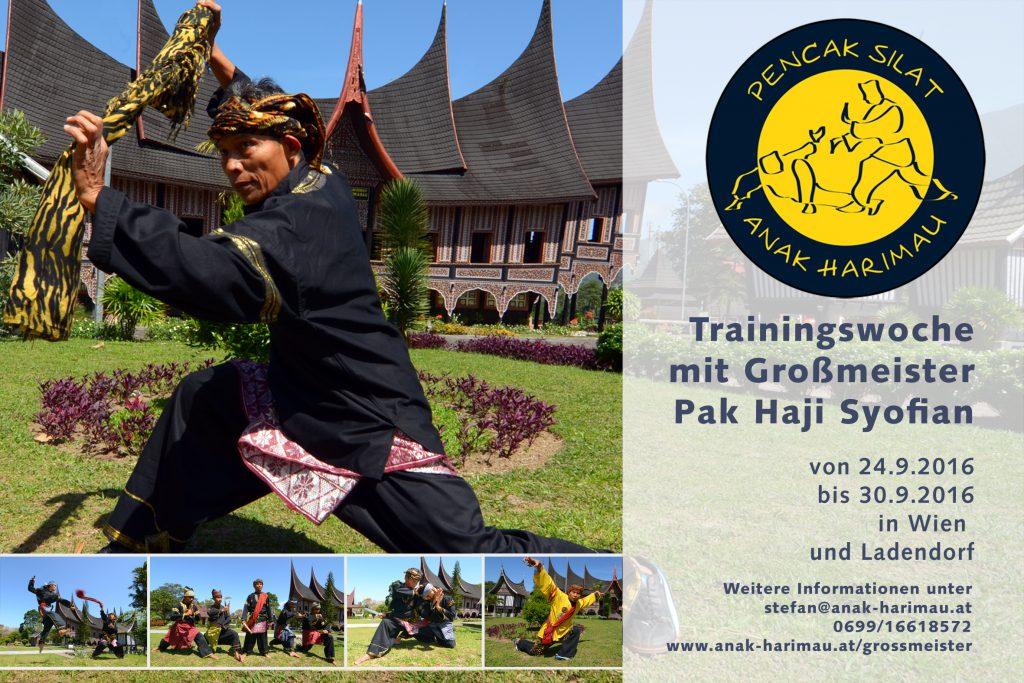 Training mit Pak Haji Syofian